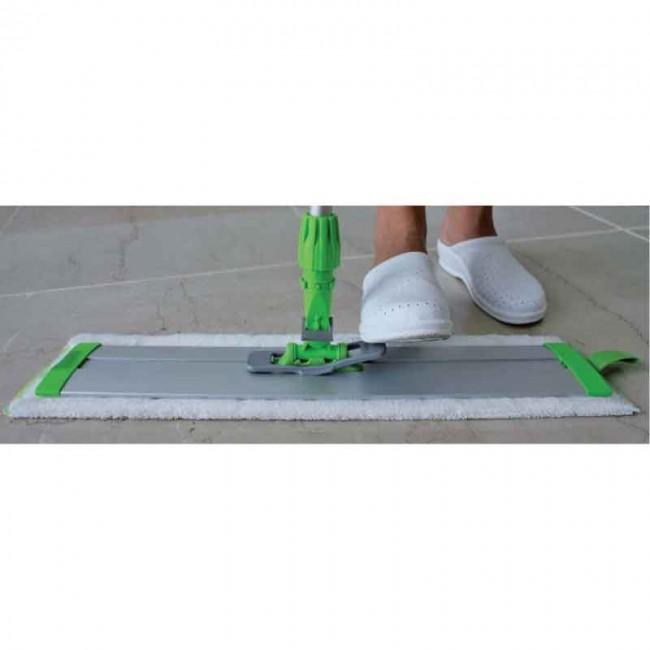 "Metal Polishing Near Me >> IPC Eagle 18"" Aluminum Slide Flat Mop Frame - Plant ..."